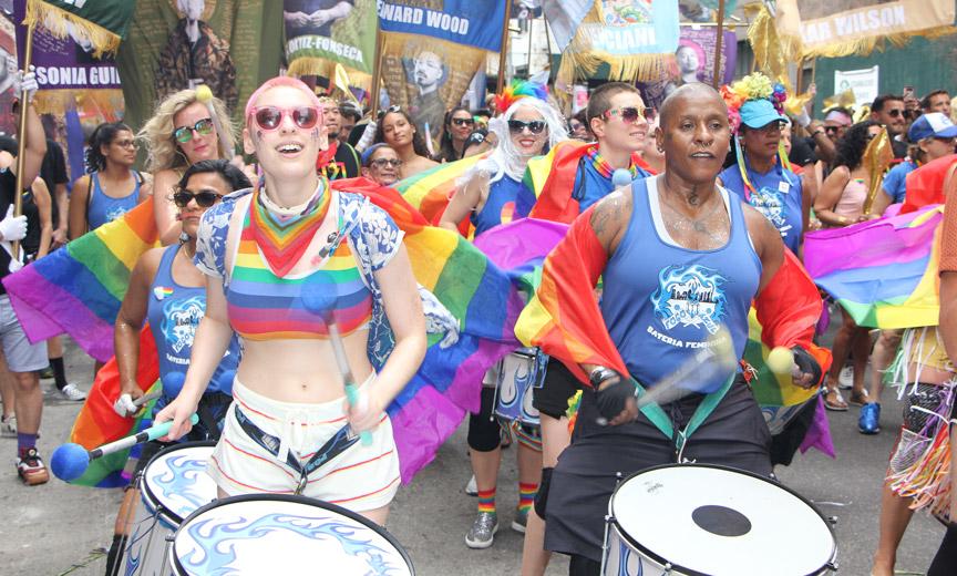Pride Drummers