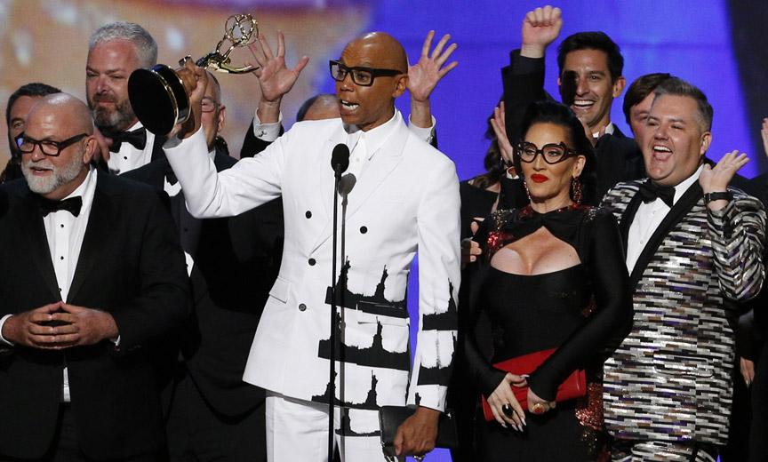 RuPaul Wins an Emmy