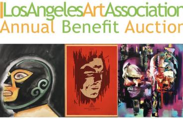 LA art association benefit poster
