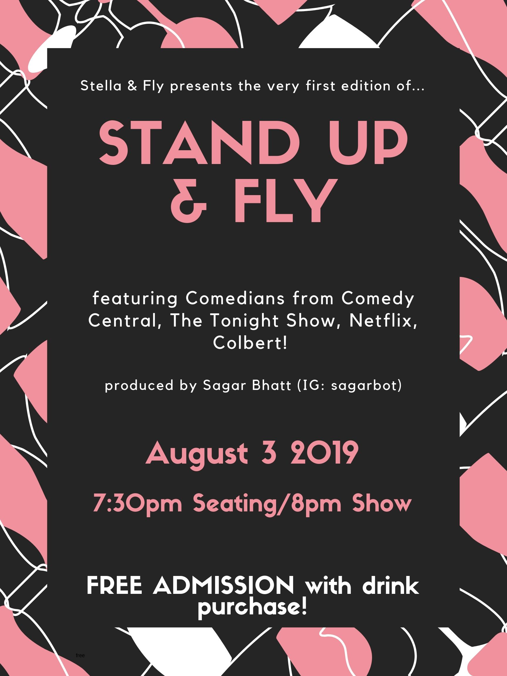 stand up & fly poster