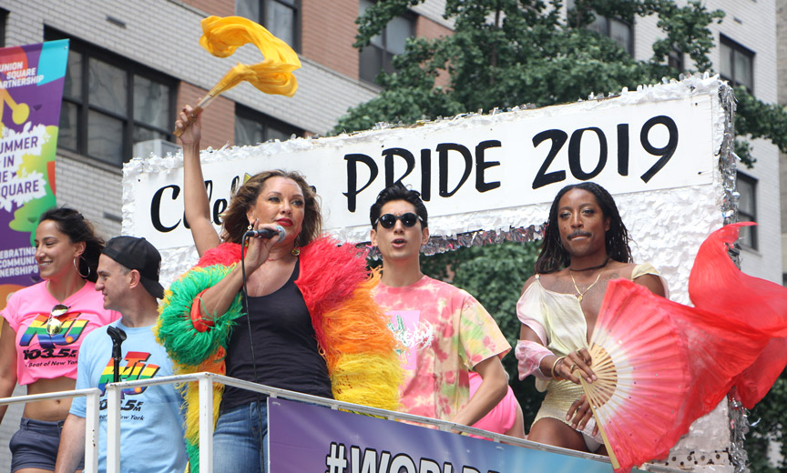 Vanessa Williams at Pride
