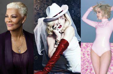 Madonna, Dionne Warwick and Carly Rae Jepsen
