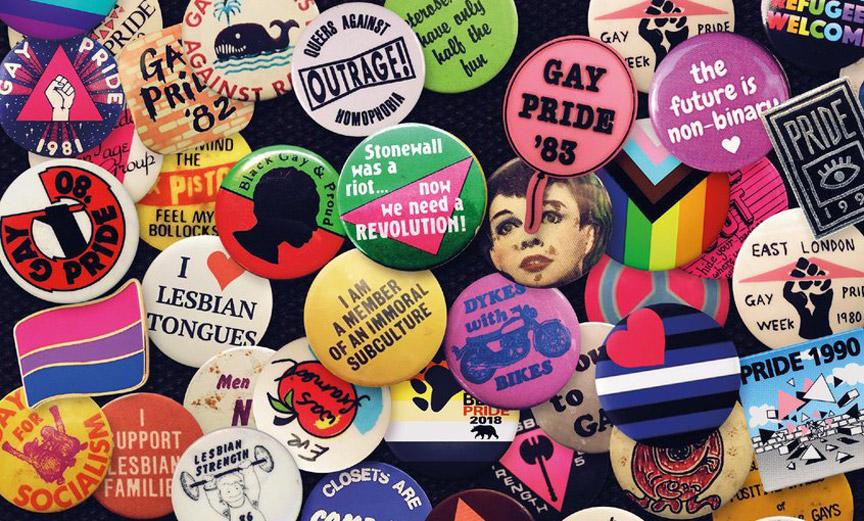 Vintage Pride Insignia
