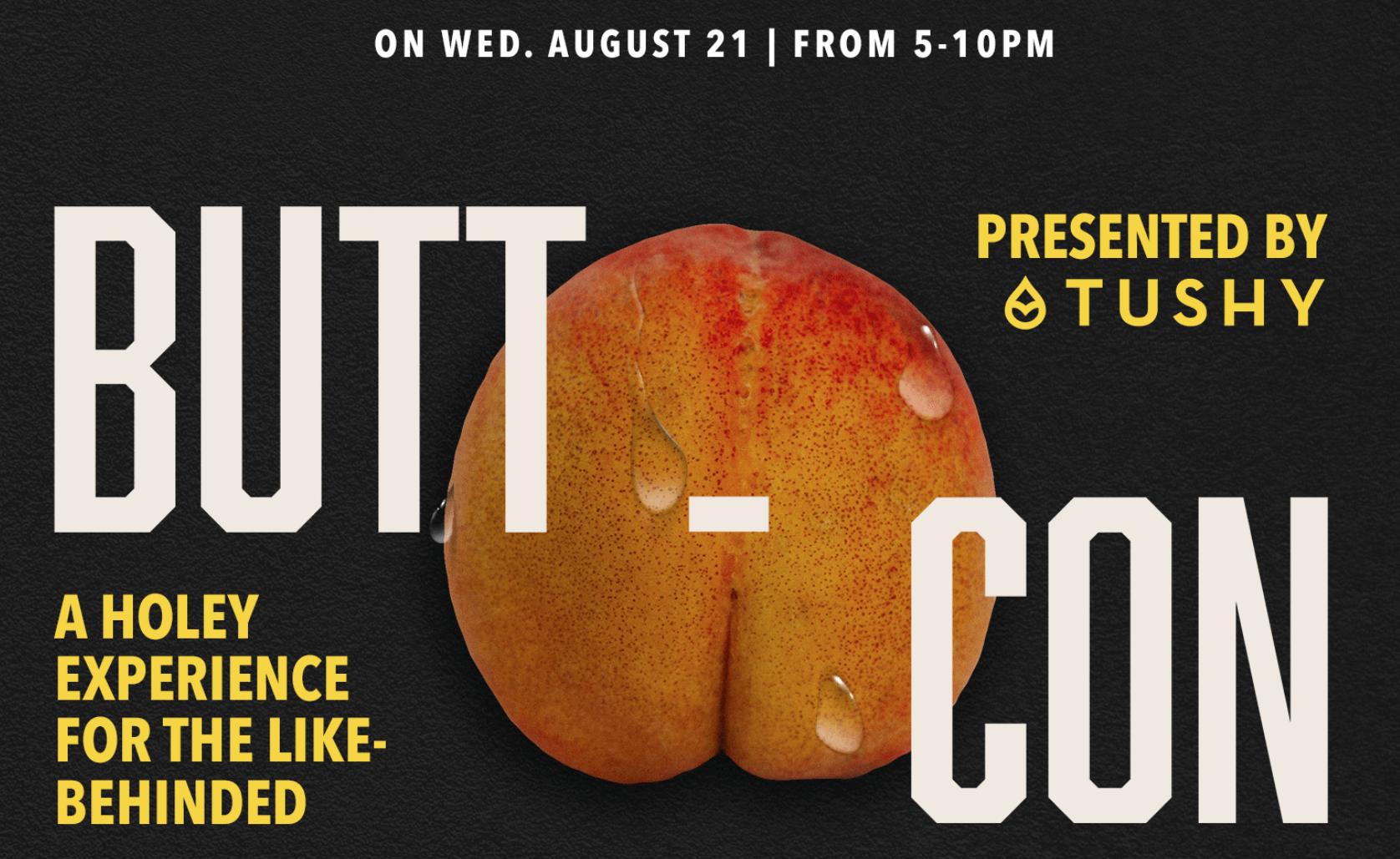 butt-con poster