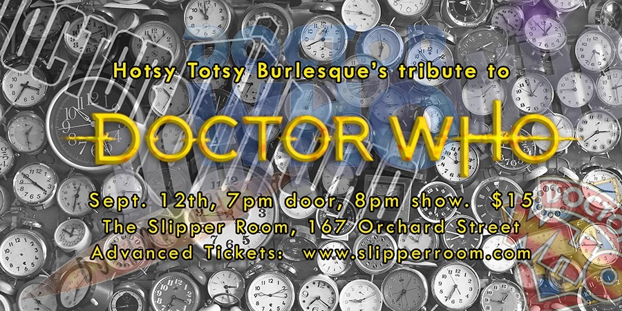 doctor who cosplay flyer