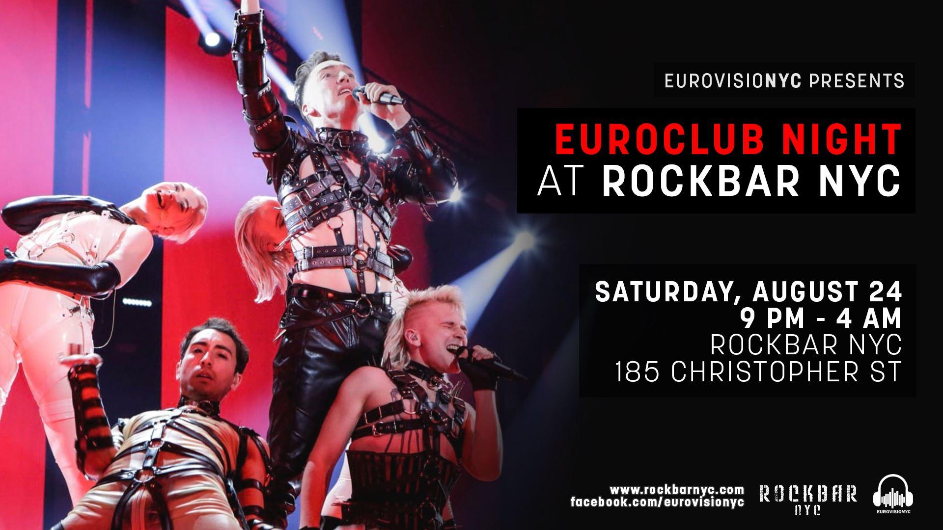 euroclub night poster