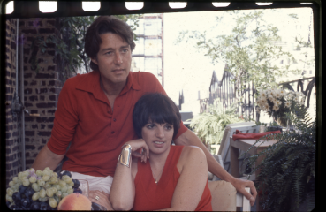 Halston with Liza Minnelli