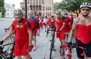 Red Dress AIDS Benefit Ride
