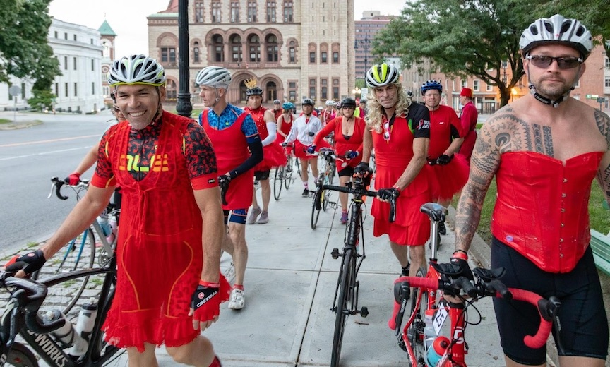 Red Dress AIDS Benefit Ride