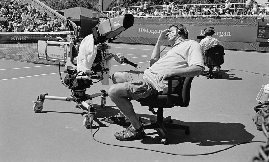 """""""Tennis Fan"""" book"""