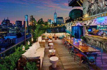 azul rooptop deck