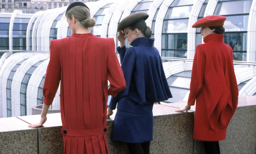 "Pierre Cardin ""Computer"" coats"