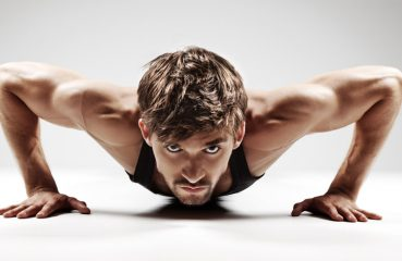 fit guy doing push-ups
