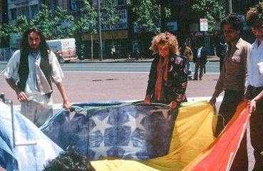 Original designers of the Rainbow Flag