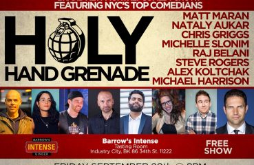 holy hand grenade comedy poster