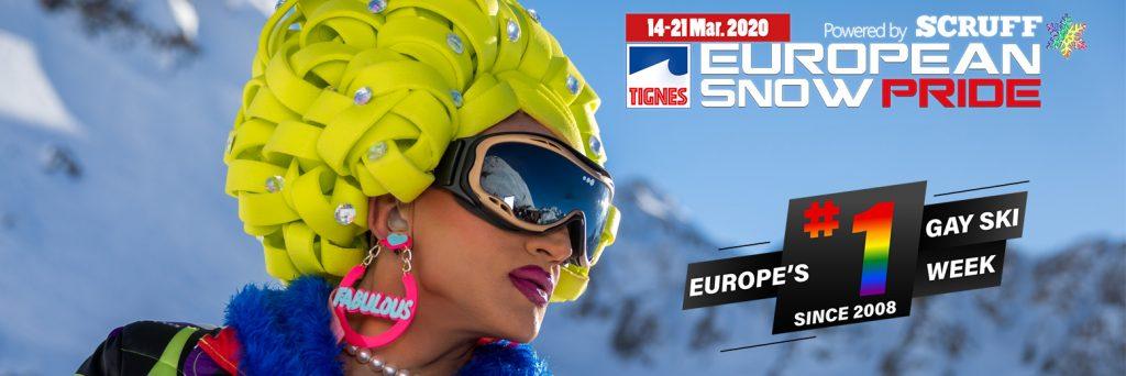 European Snow Pride poster