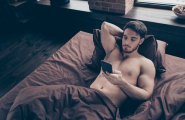 Hot Guy in Bed