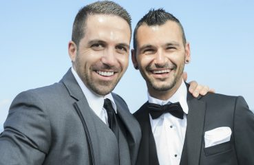 Gay Wedding Couple