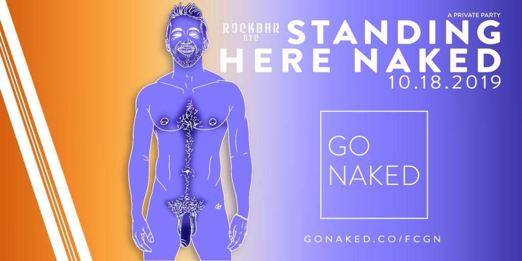 standing here naked