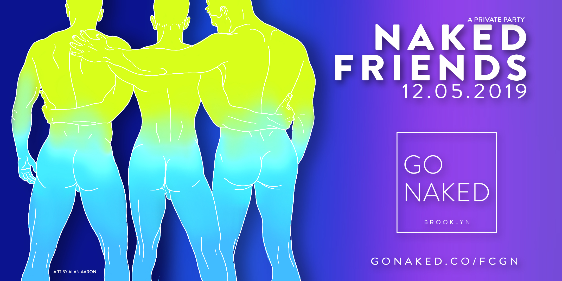 naked friends