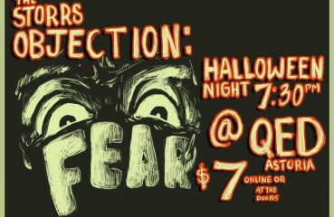 storrs objection halloween poster