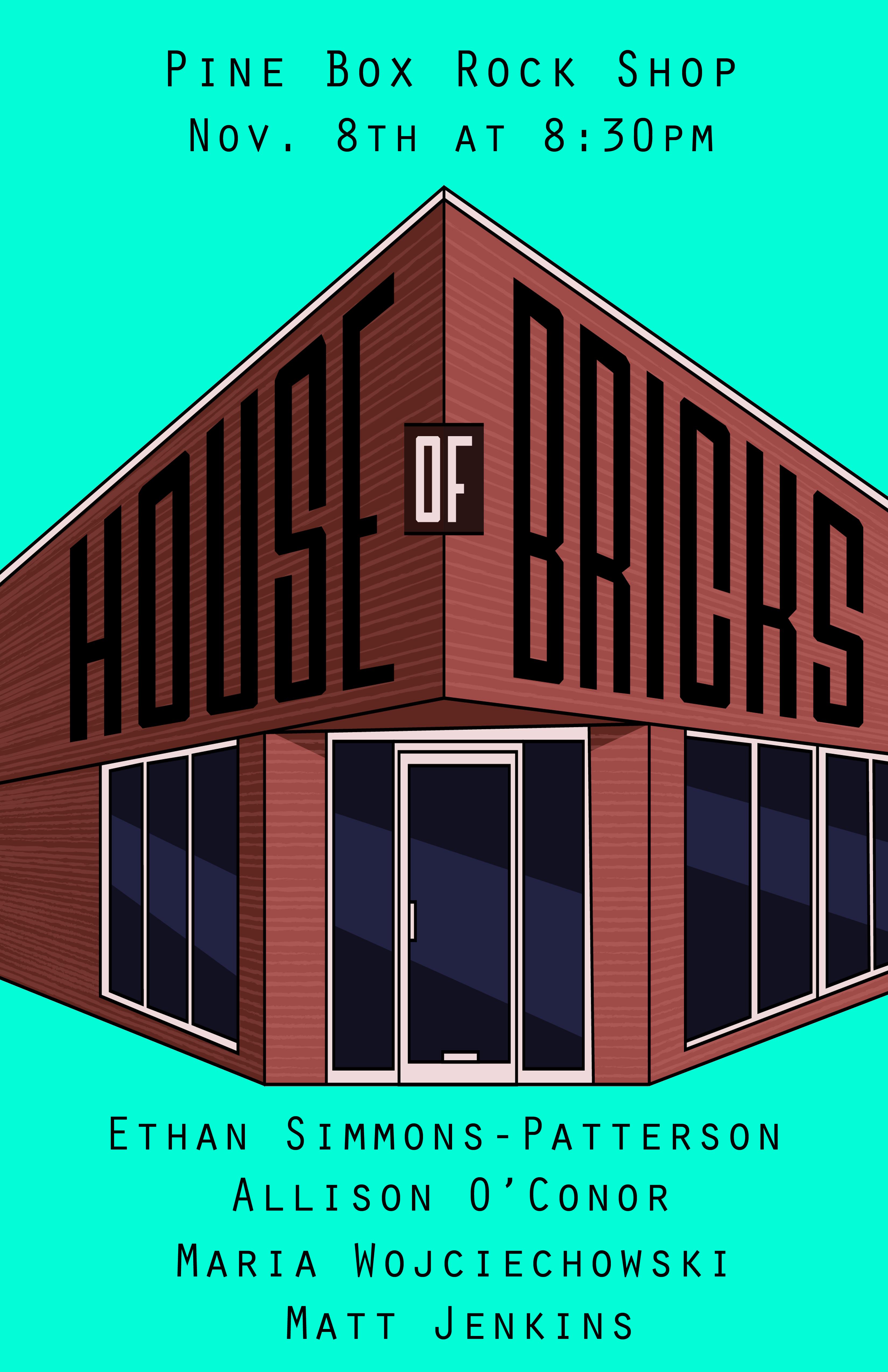 house of bricks poster
