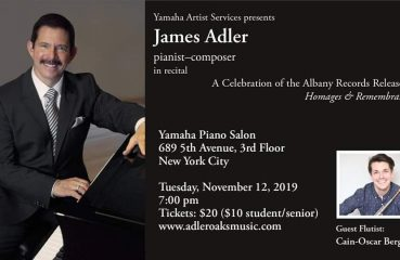pianist james adler