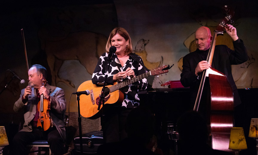 Tim Crouch, Mare Winningham and Dennis Crouch