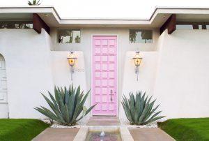 palm springs pink door