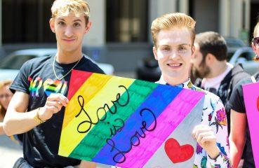 Guys at Pride