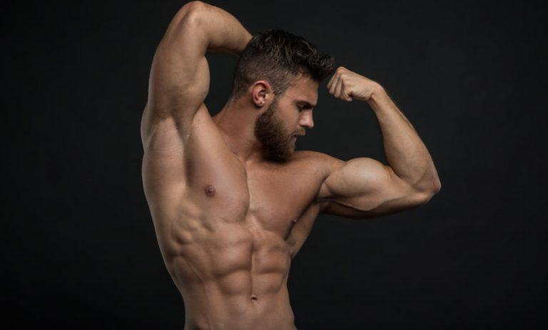 Shirtless Dancer