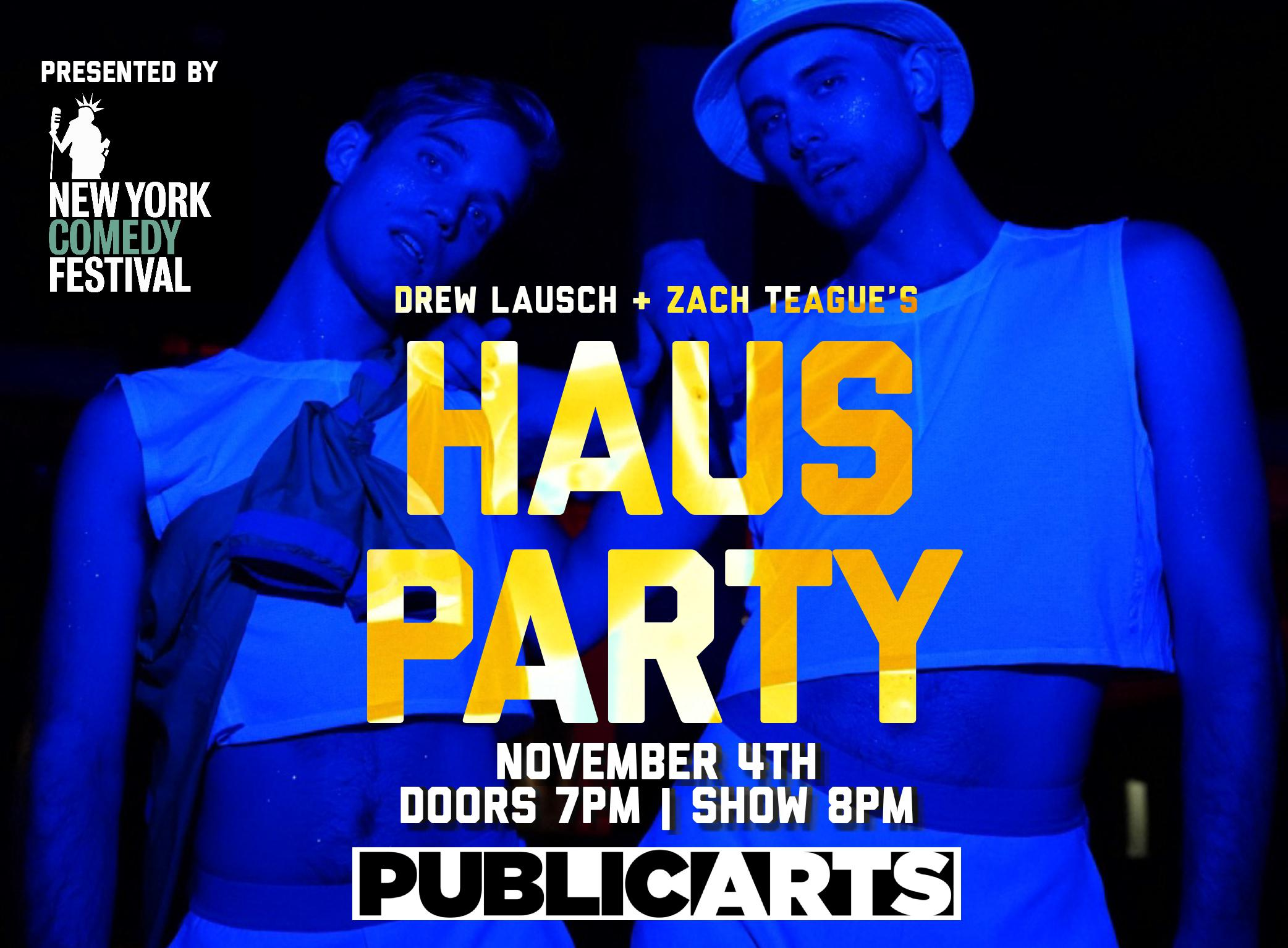haus party poster