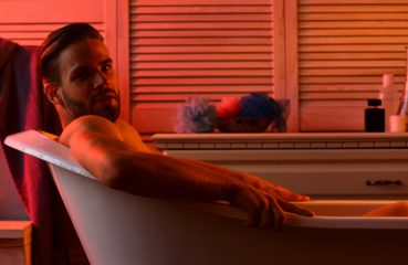 Well Lit Guy in a Bathtub