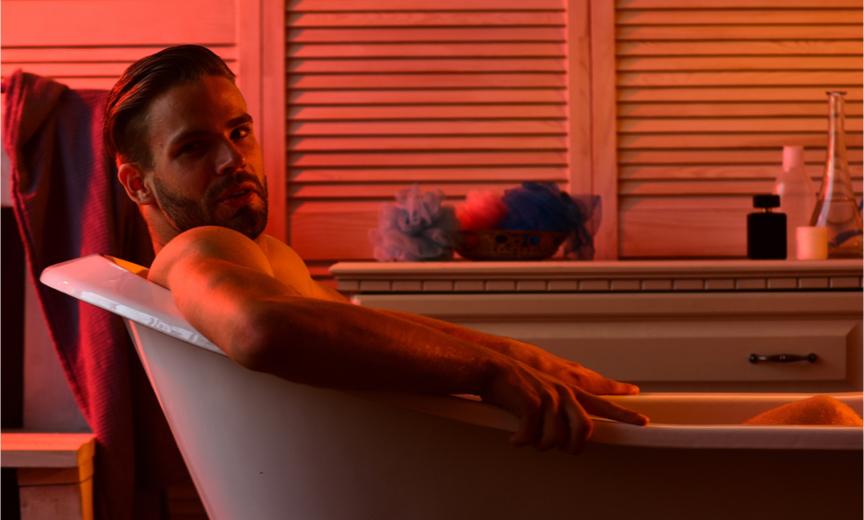 Well Lit Guy in a Bathtub