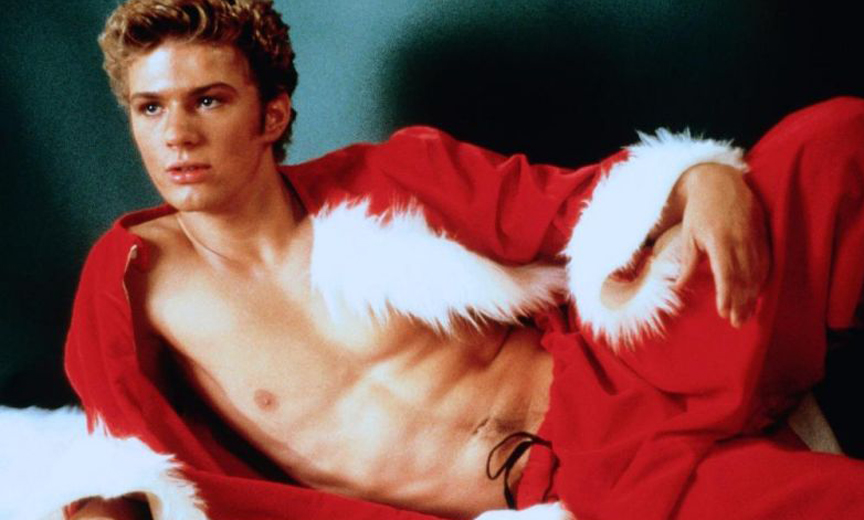 Ryan Phillippe in a Santa Suit