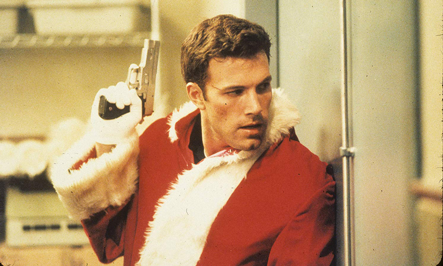 Ben Affleck in a Santa Suit