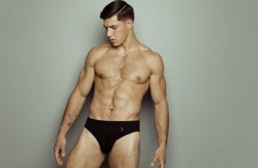 Attractive Man in Underwear