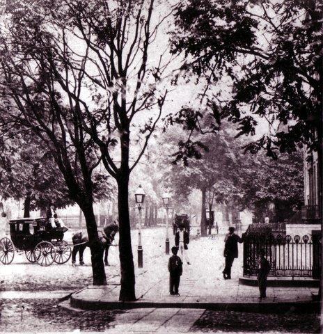 Lafayette Street in historic soho