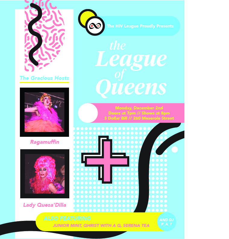 the league of queens poster