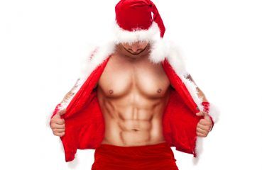 Santa with a Six Pack