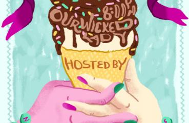 sounds grate ice cream cone poster