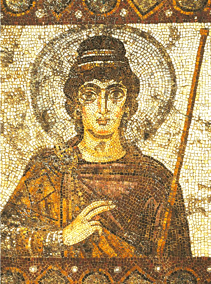 mosaic of lady of carthage