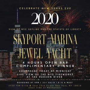 skyport marina yacht party
