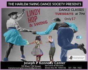 Harlem Swings! Historic Lindy Hop & Swing Dance Class
