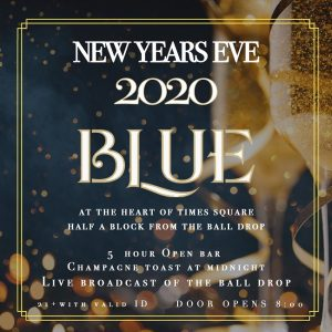 new years eve blue party