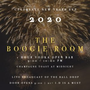 boogie room new years party