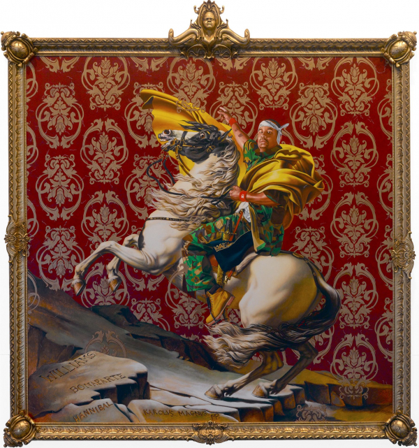 jacques louis david meets kehinde wiley