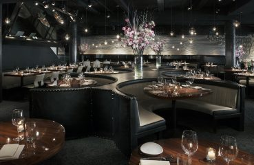 STK Steakhouse dining room