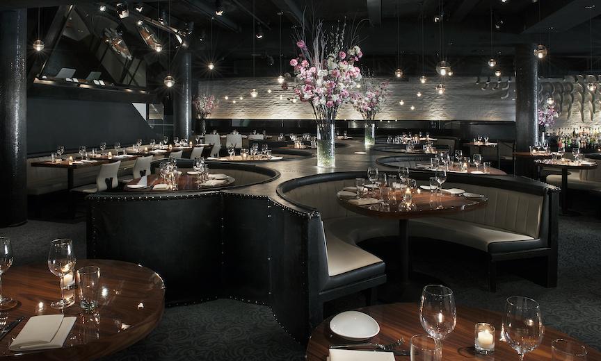 STK Steakhouse dining room