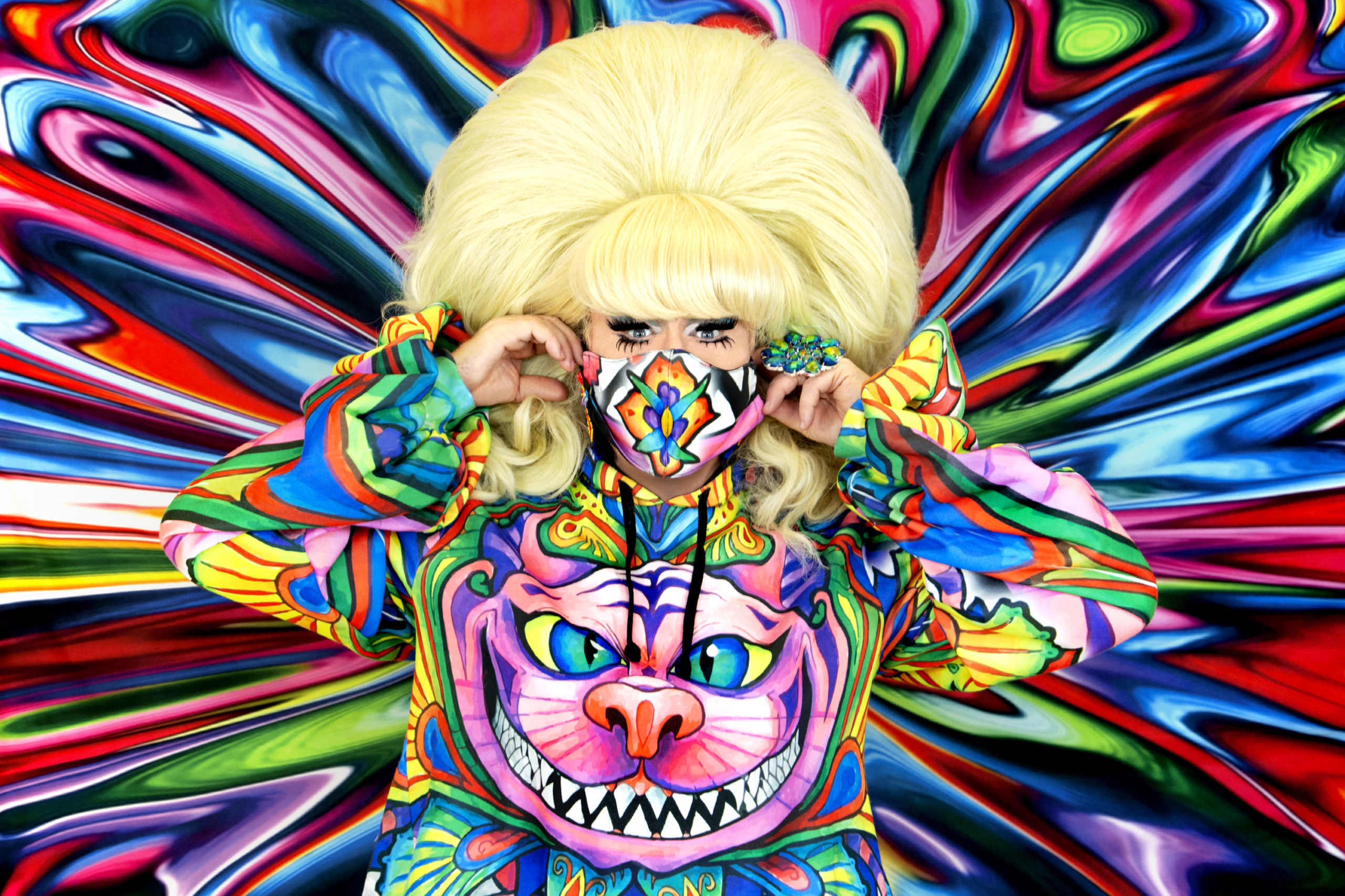 LADY BUNNY – The COVID Queen at the Drive-In